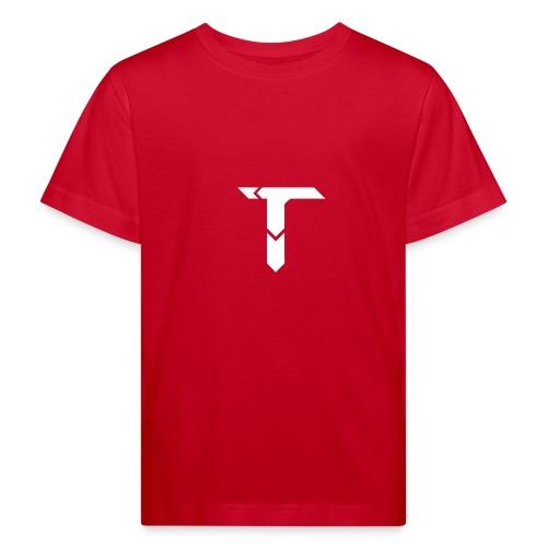 White Logo - Kids' Organic T-Shirt