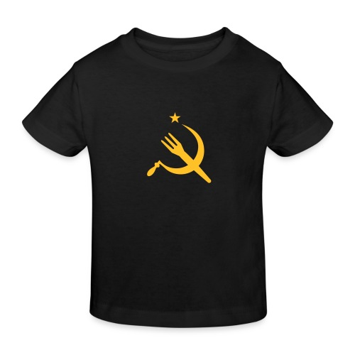 Fourchette en sikkel - USSR - belgië - belgique - T-shirt bio Enfant