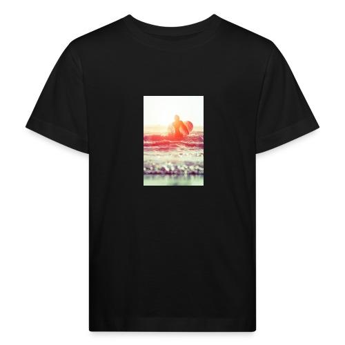 sunset surf jpg - Kids' Organic T-Shirt