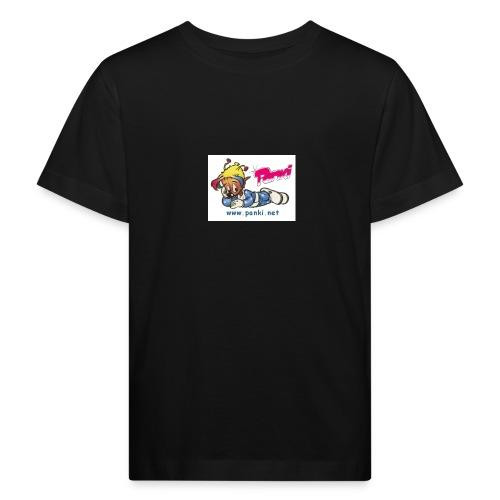 panki sticker neu - Kinder Bio-T-Shirt