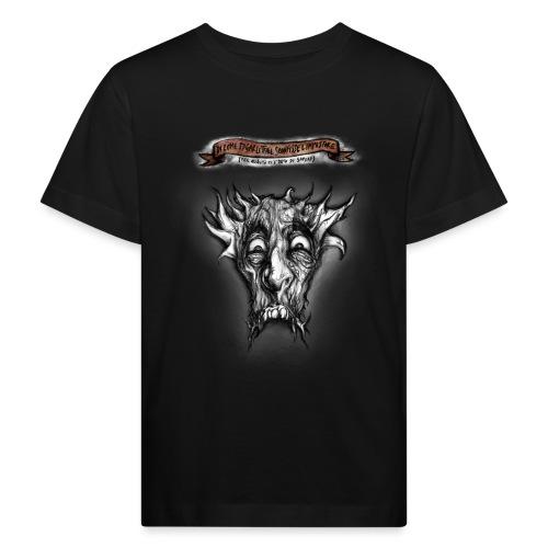 T-shirt del Dio Diaforo Tossidoille - Maglietta ecologica per bambini