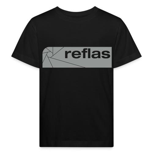 Reflas Clothing Black/Gray - Maglietta ecologica per bambini