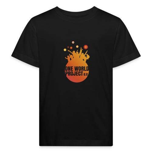 One World Project e. V. - Logo - Kinder Bio-T-Shirt