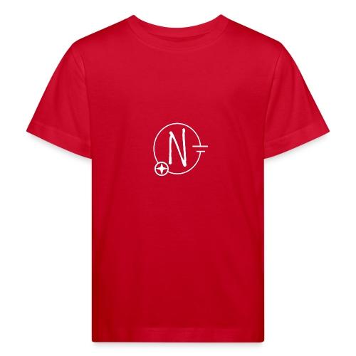 Nerdpol Logo White - Kinder Bio-T-Shirt