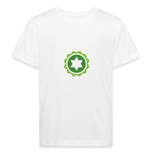 The Heart Chakra, Energy Center Of The Body - Kids' Organic T-Shirt
