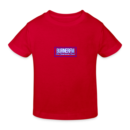 BurnerFM Hier Sürst du den Sound - Kinder Bio-T-Shirt