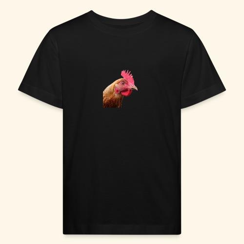 chicken PNG2159 - Lasten luonnonmukainen t-paita