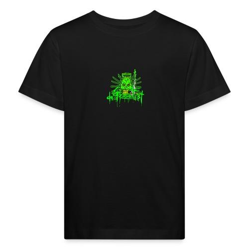 GFSkullOnlyColorShirt - Kids' Organic T-Shirt