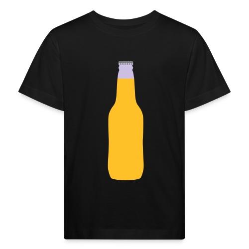 Bierflasche - Kinder Bio-T-Shirt