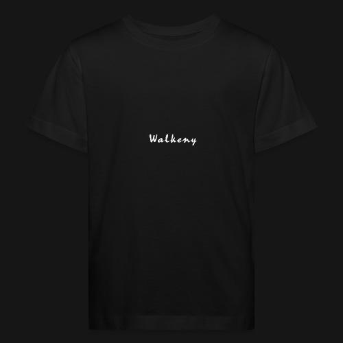 Walkeny Schriftzug in weiß! - Kinder Bio-T-Shirt