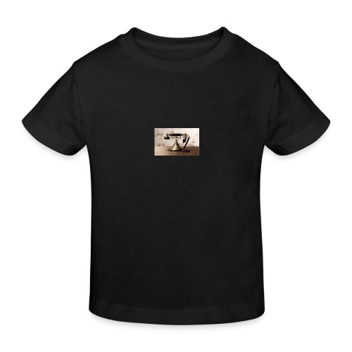 telefono - Camiseta ecológica niño
