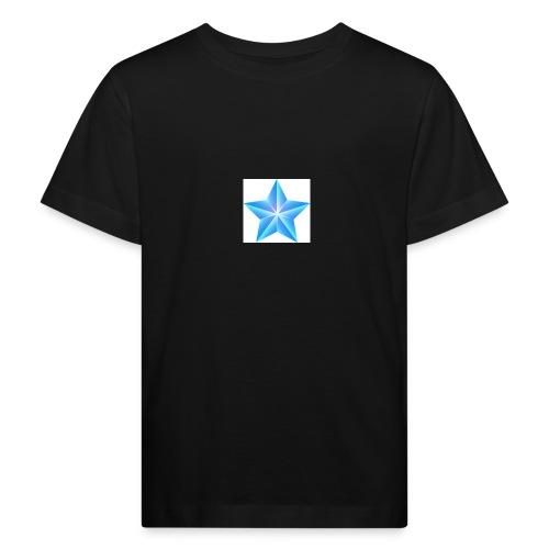 blue themed christmas star 0515 1012 0322 4634 SMU - Kids' Organic T-Shirt