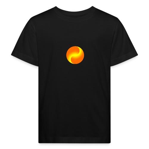 Yin Yang goldig - Kinder Bio-T-Shirt