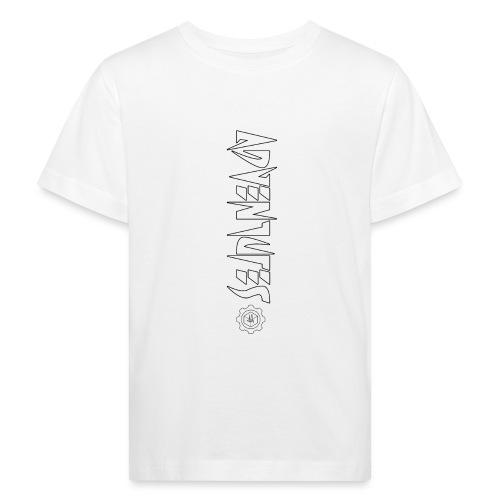 Jebus Adventures Vertical Stripe - Kids' Organic T-Shirt