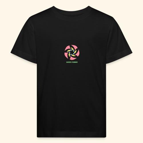 GOOD FLOWER - Camiseta ecológica niño