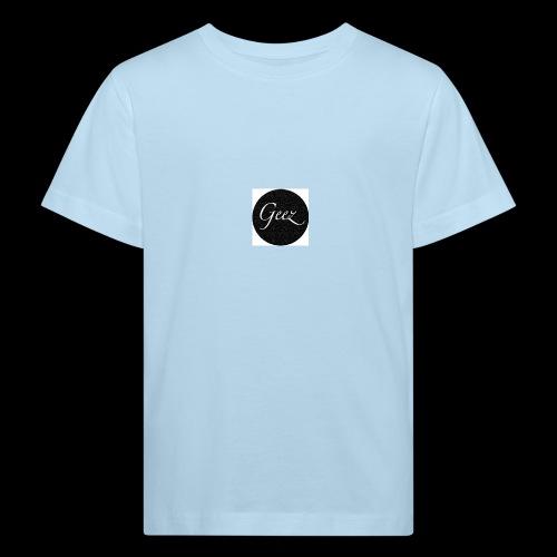black/white texture - Kids' Organic T-Shirt