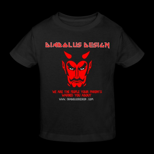 Design Ol Diabolus Head - Kids' Organic T-Shirt