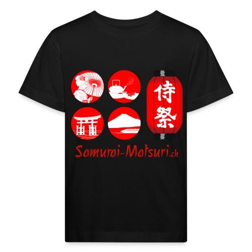 Samurai Matsuri Festival - Kinder Bio-T-Shirt