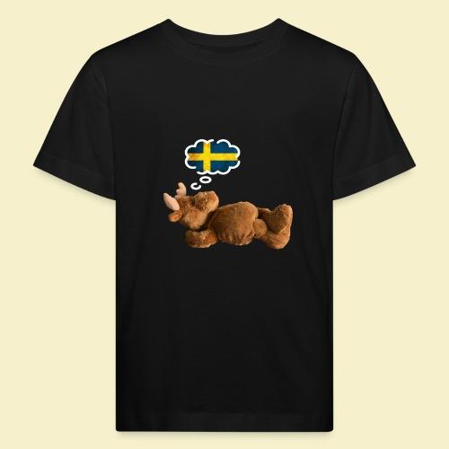 Traum von Schweden - Kinder Bio-T-Shirt
