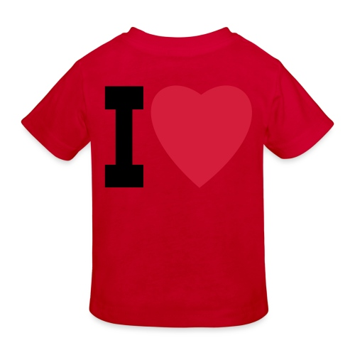 create your own I LOVE clothing and stuff - Kids' Organic T-Shirt