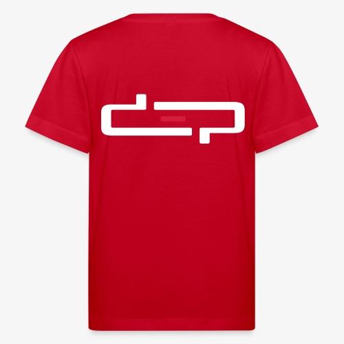 deplogo1neg red - Økologisk T-skjorte for barn