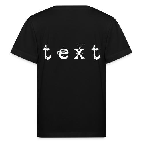 text - Kinder Bio-T-Shirt