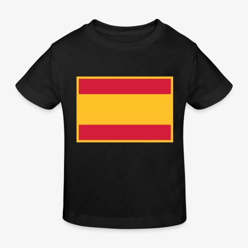 Banderola española - Camiseta ecológica niño