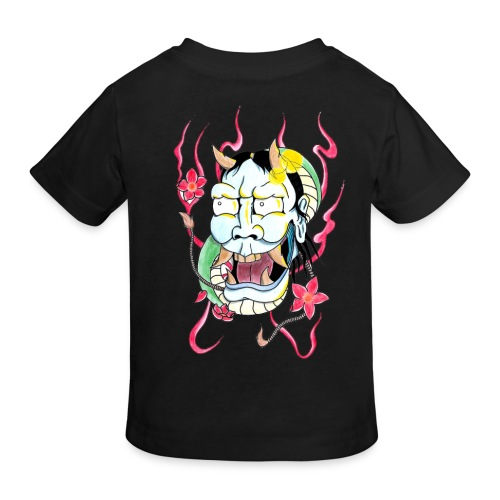 hannya mask - Kids' Organic T-Shirt