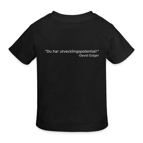 Ju jutsu kai förslag 1 version 1 vit text - Ekologisk T-shirt barn