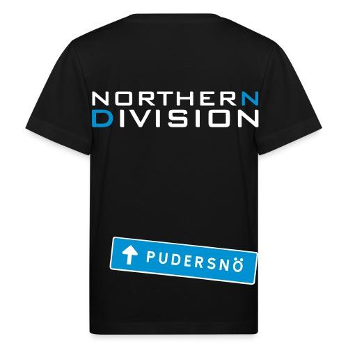pudersn_2vari - Lasten luonnonmukainen t-paita