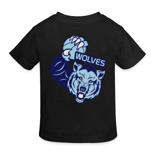 Wolves Basketball - T-shirt bio Enfant