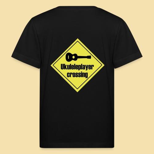 Uke player crossing - Kinder Bio-T-Shirt