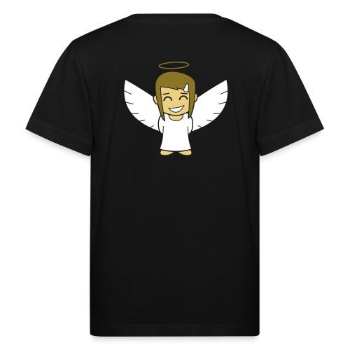 Angelgirl, negativ (ohne Text) - Kinder Bio-T-Shirt