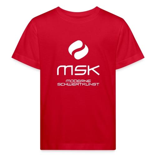 Logo_mit_schrift_2zeilig_ - Kinder Bio-T-Shirt