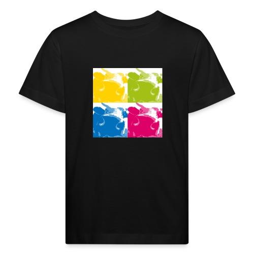 4 Kühe - Kinder Bio-T-Shirt