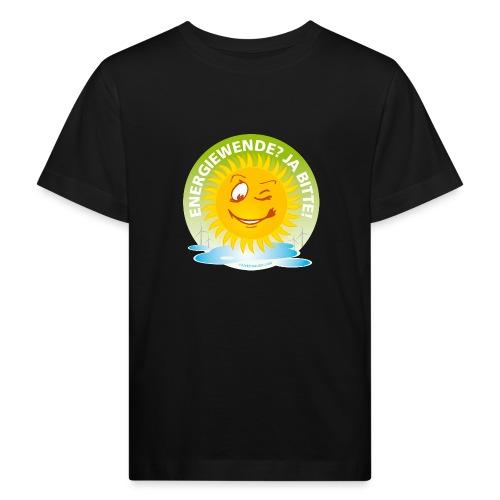 Energiewende? Ja bitte! - Kinder Bio-T-Shirt