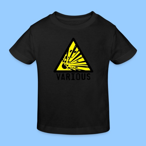 VariousExplosions Triangle (2 colour) - Kids' Organic T-Shirt