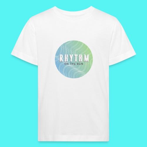 Rhythm On The Run Logo - Kids' Organic T-Shirt