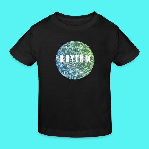 Rhythm On The Run Logo - Kids' Organic T-Shirt