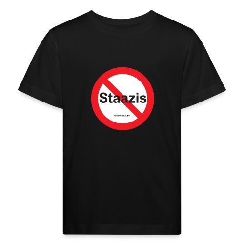 Staazis Verboten - Kinder Bio-T-Shirt