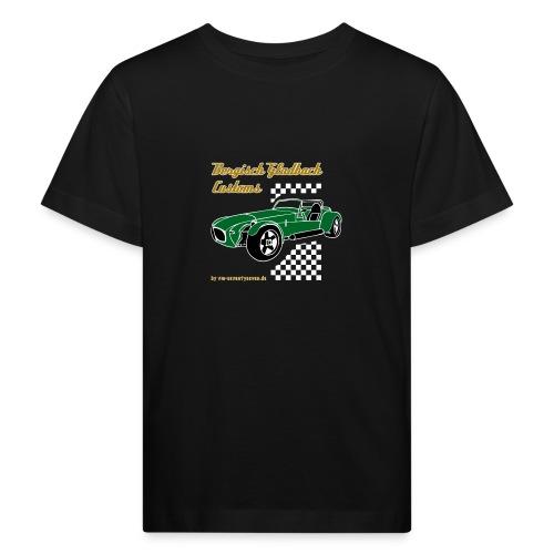 77 gruen - Kinder Bio-T-Shirt