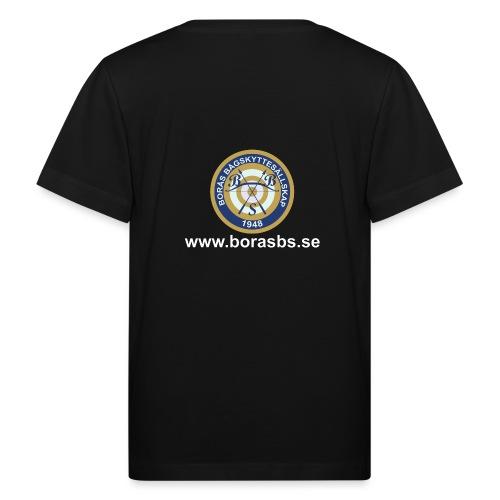 BBS Logo med URL - Ekologisk T-shirt barn