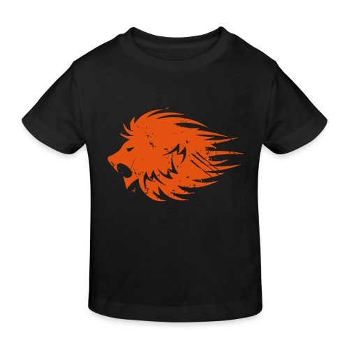 MWB Print Lion Orange - Kids' Organic T-Shirt