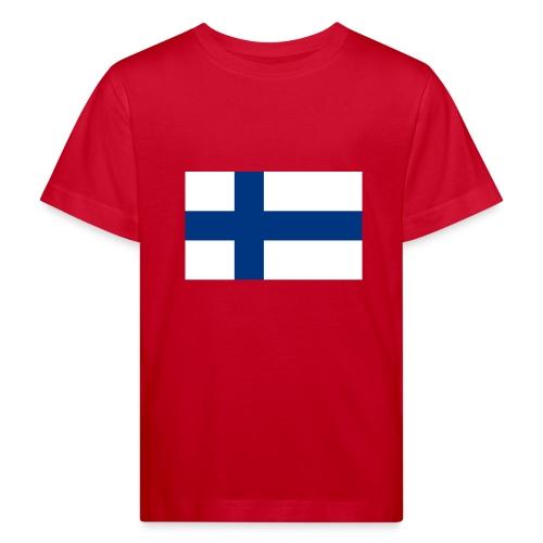 800pxflag of finlandsvg - Lasten luonnonmukainen t-paita