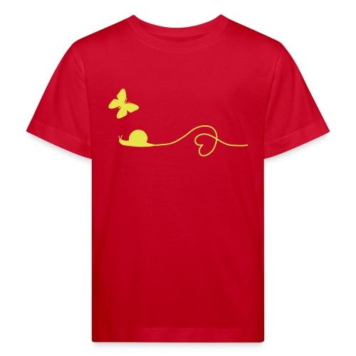 Fair, Öko & Bio-Kinder-Shirt / T-Shirt Schnecke - Kinder Bio-T-Shirt