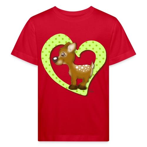 Kira Kitzi Limone - Kinder Bio-T-Shirt