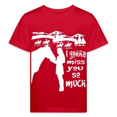 I Love You So Much - T-shirt bio Enfant