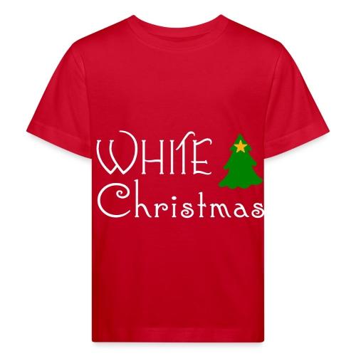 White Christmas - Kids' Organic T-Shirt