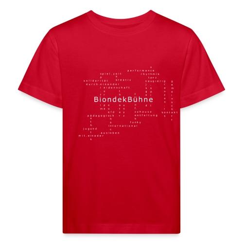 BiondekBühne Modern - Kinder Bio-T-Shirt