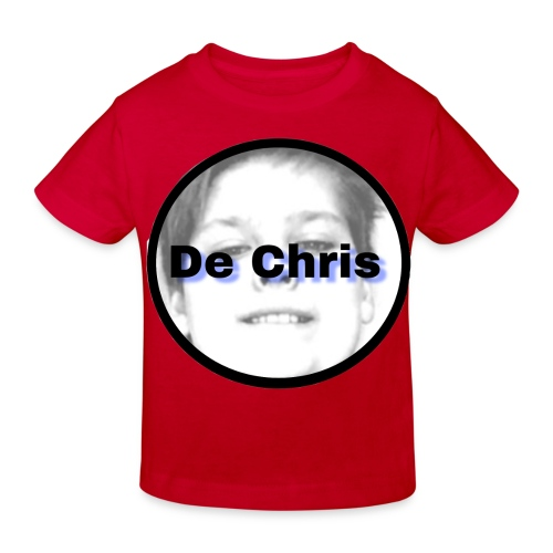 De Chris logo - Kinderen Bio-T-shirt